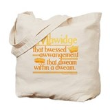 Princess Bride Mawidge Speech Tote Bag