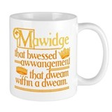 Princess Bride Mawidge Speech Small Mug