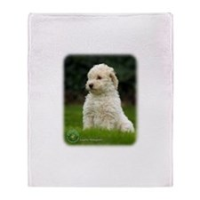 Lagotto Romagnollo 8T21D-10 Throw Blanket