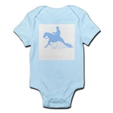 Infant Creeper Blue Reining