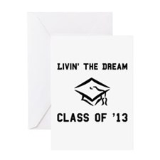 Class of 2013 Black.png Greeting Card