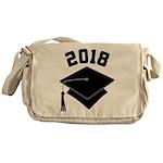 Class of 2018 Grad Hat Messenger Bag