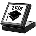 Class of 2018 Grad Hat Keepsake Box