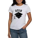 Class of 2018 Grad Hat Women's T-Shirt