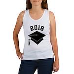 Class of 2018 Grad Hat Women's Tank Top