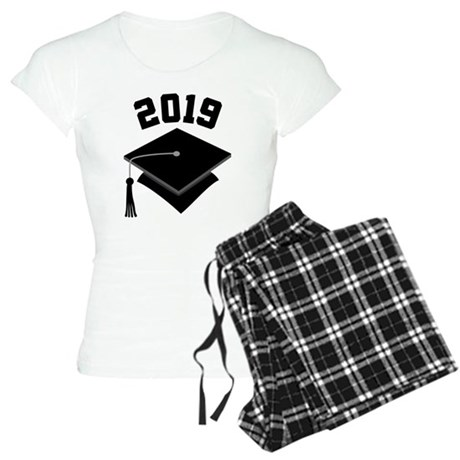 Class of 2019 Grad Hat Women's Light Pajamas