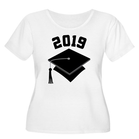 Class of 2019 Grad Hat Women's Plus Size Scoop Nec