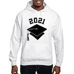 Class of 2021 Grad Hat Hooded Sweatshirt