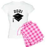 Class of 2021 Grad Hat Women's Light Pajamas