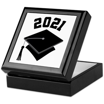 Class of 2021 Grad Hat Keepsake Box