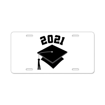 Class of 2021 Grad Hat Aluminum License Plate
