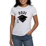 Class of 2021 Grad Hat Women's T-Shirt