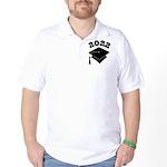 Class of 2022 Grad Hat Golf Shirt
