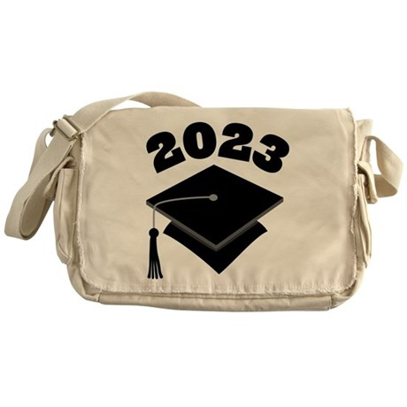 Class of 2023 Grad Hat Messenger Bag