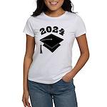 Class of 2024 Grad Hat Women's T-Shirt