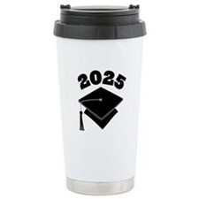 Class of 2025 Grad Hat Ceramic Travel Mug