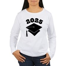 Class of 2025 Grad Hat T-Shirt