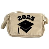 Class of 2025 Grad Hat Messenger Bag