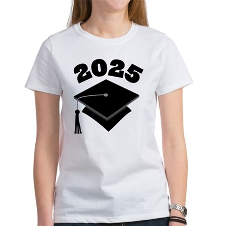 Class of 2025 Grad Hat Women's T-Shirt