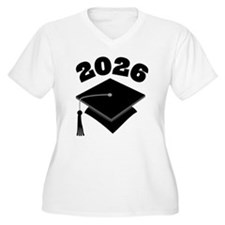 Class of 2026 Grad Hat T-Shirt