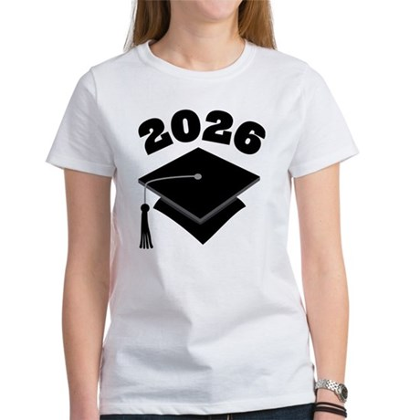 Class of 2026 Grad Hat Women's T-Shirt