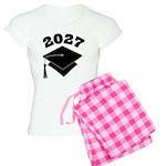 Class of 2027 Grad Hat Women's Light Pajamas