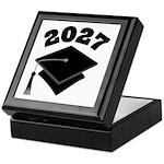 Class of 2027 Grad Hat Keepsake Box