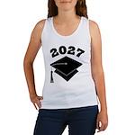 Class of 2027 Grad Hat Women's Tank Top