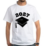Class of 2027 Grad Hat Shirt