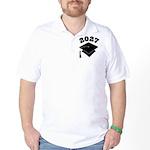 Class of 2027 Grad Hat Golf Shirt