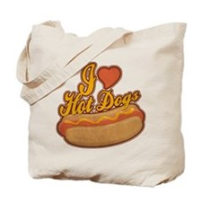 ILoveHotdogs.png Tote Bag