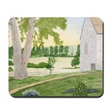 Summer Meadow and Barn Mousepad