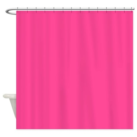 Hot Pink Shower Curtain By Inspirationzstore
