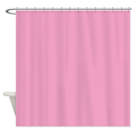 antique altrose pink shower curtain