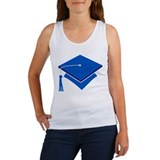 Blue Grad Hat Gift Women's Tank Top