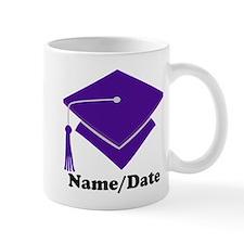 Personalized Purple Graduation Mug