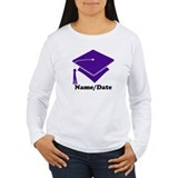 Personalized Purple Graduation T-Shirt