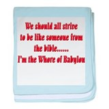 Whore-of-Babylon-black.png baby blanket