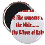 "Whore-of-Babylon-black.png 2.25"" Magnet (100 pack)"