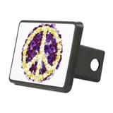 Flowers of Peace Rectangular Hitch Cover