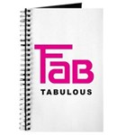 Fab Tabulous Journal