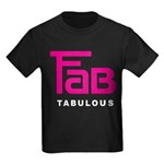 Fab Tabulous Kids Dark T-Shirt