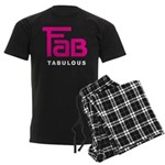 Fab Tabulous Men's Dark Pajamas