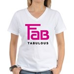 Fab Tabulous Women's V-Neck T-Shirt