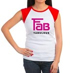 Fab Tabulous Women's Cap Sleeve T-Shirt