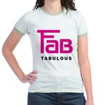 Fab Tabulous Jr. Ringer T-Shirt