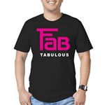 Fab Tabulous Men's Fitted T-Shirt (dark)