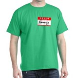 Emmalyn, Name Tag Sticker T-Shirt