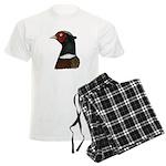 Ringneck Rooster Head Men's Light Pajamas
