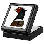 Ringneck Rooster Head Keepsake Box